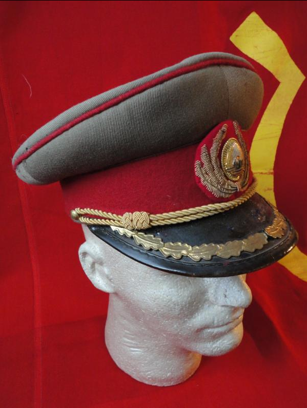 Romanian People s Army generals  service visor cap.  a0a1cefe8c7