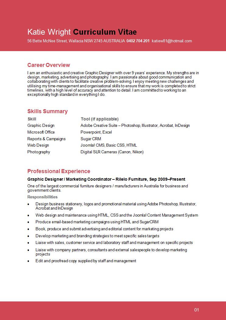 Resume Format Graphic Designer Graphic Design Resume Graphic Resume Resume Design