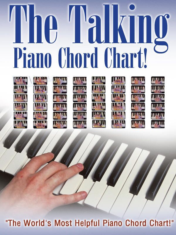 The Talking Piano Chord Chart! Piano Programs That Produce