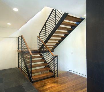Houzz Modern Staircases | Open Modern Stair Modern Staircase