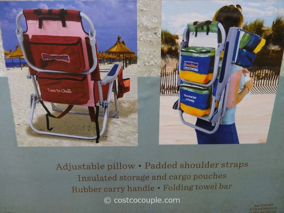 Tommy Bahama Backpack Cooler Beach Chair Costco Cool Modern