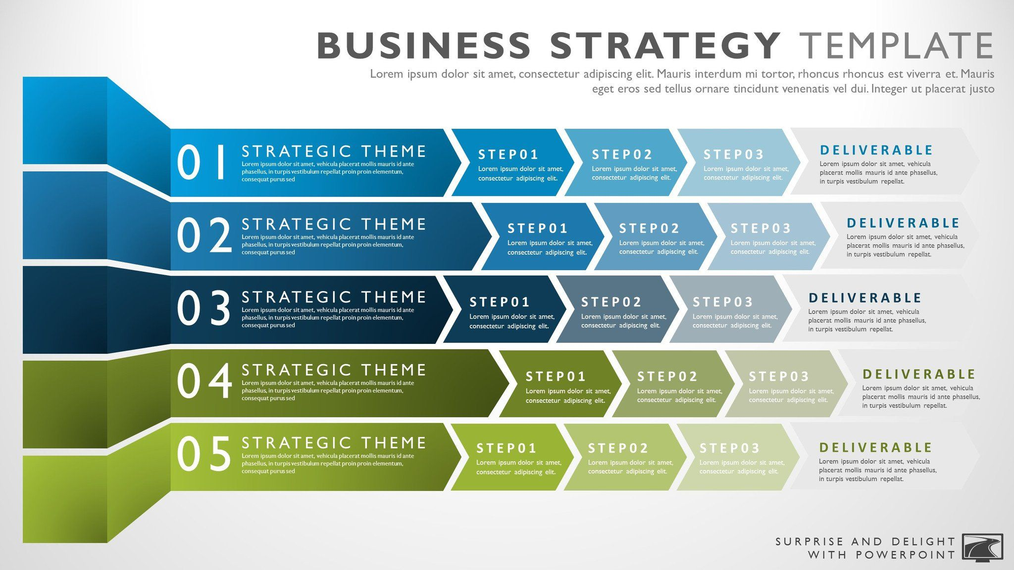 Business strategy template strategic plan pinterest business business strategy template fbccfo Image collections