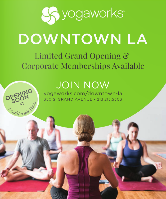 YogaWorks is coming to DTLA really soon! Visit their site to get the latest on their opening and class offerings! Then grab a friend (or five) and find your space in their studio!  #DTNews #DowntownNews #LADowntownNews #DTLA #DowntownLA #DowntownLosAngeles #LA #LosAngeles #yogaworks #yoga #comingsoon