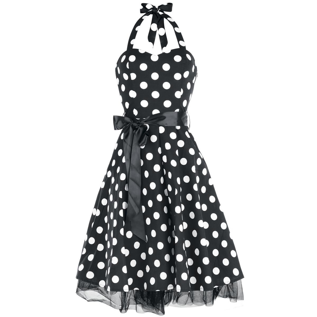 "Big Dot Dress Abito in stile anni '50 ""Big Dot Dress"" di H&R London!"