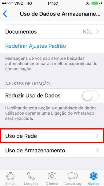 WhatsApp mensagens recebidas