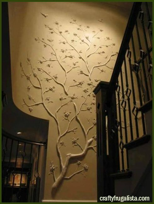 I Have 3 Empty Walls And This Would Be Perfect For One Of Them Maybe Even On A Ceiling Yes Diy Wall Decor Real Tree Branches