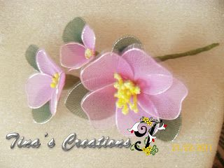 Tinas Creations: Stocking flower Arrangements