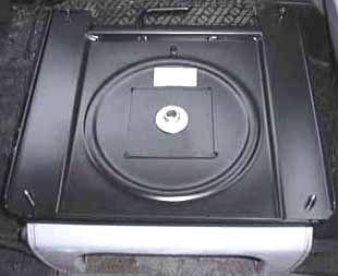 Swivel Adapter for 19992003 Volkswagen EuroVan Interior