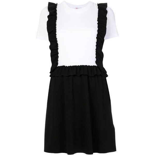 Excellent Red Valentino ruffled pinafore T-shirt dress Collections Cheap Price Free Shipping Affordable Outlet Supply Discount For Sale dDYh85mL