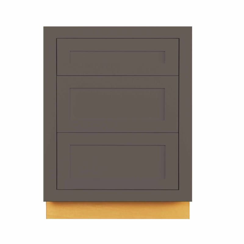 Maplevilles Cabinetry Db24 In 2020 Base Cabinets Dark Grey Kitchen Cabinets Dark Grey Kitchen