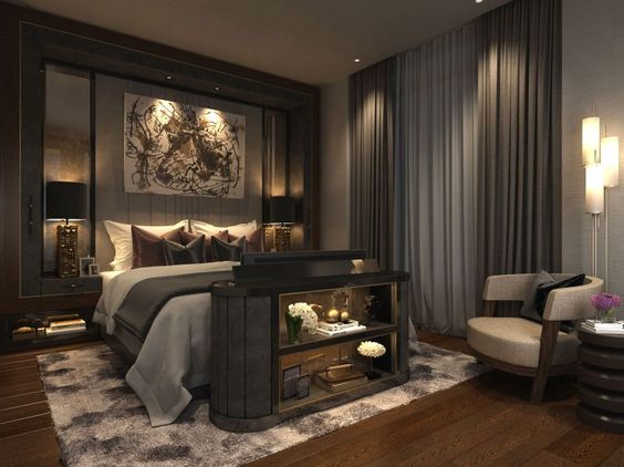Romantic Bedroom Design Idea Luxurious Bedrooms Luxury Master