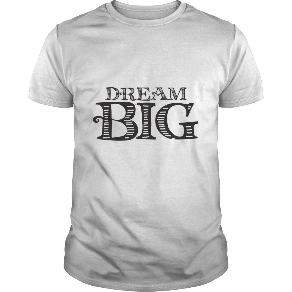 ca19fbcaf Dream BIG retro tee shirts ,mens t shirts cheap ,make shirts ,funny ...