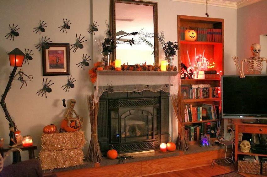21 Stylish Living Room Halloween Decorations Ideas ...