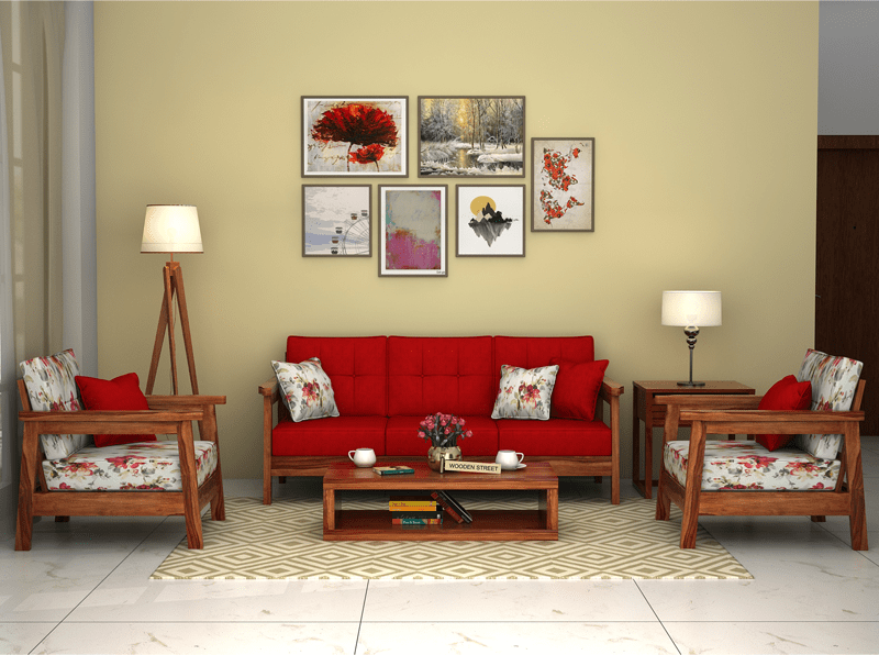 Give A Modern And Colourful Look To Your Living Space With This