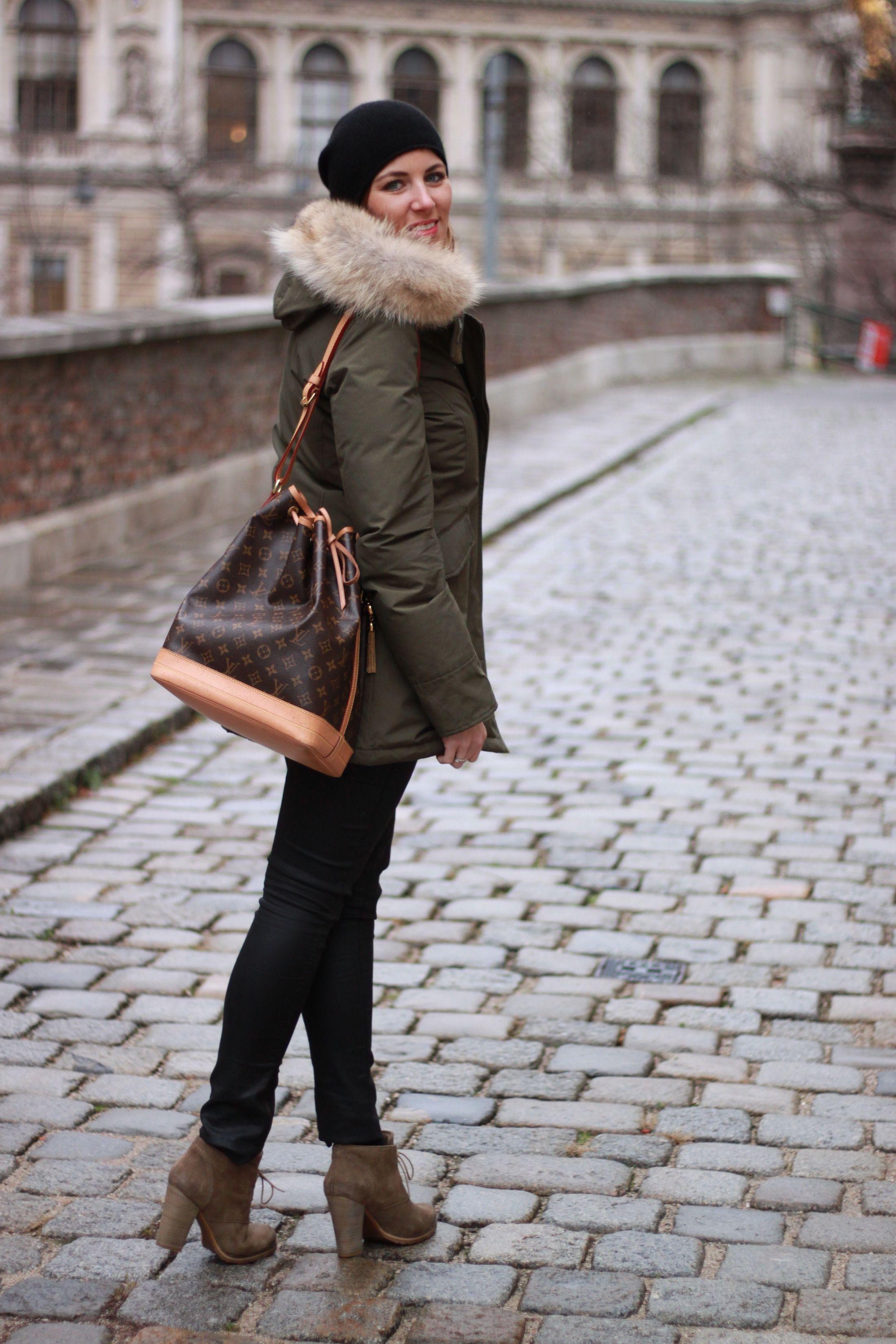 Winterjacke woolrich style
