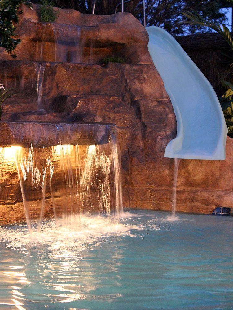 Swimming Pool Waterfalls 9 Models Artificial Rock Waterfall