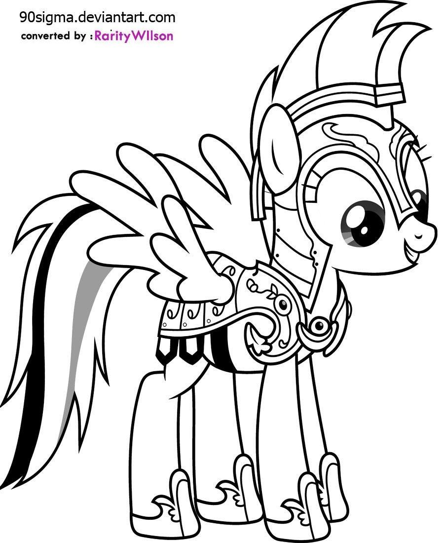 Pin von FairToner.de auf My Little Pony Ausmalbilder ...