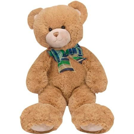 Recordable Teddy Bear Walmart, First Main Plush Stuffed Brown Bear 15 Sitting Position Walmart Com Brown Teddy Bear Teddy Bears For Sale Teddy Bears Valentines