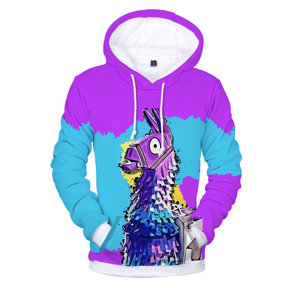 Official Product Sweatshirts for Boys with Long Sleeve Pockets and Hood Online Video Gamer Gifts Fortnite Hoodie