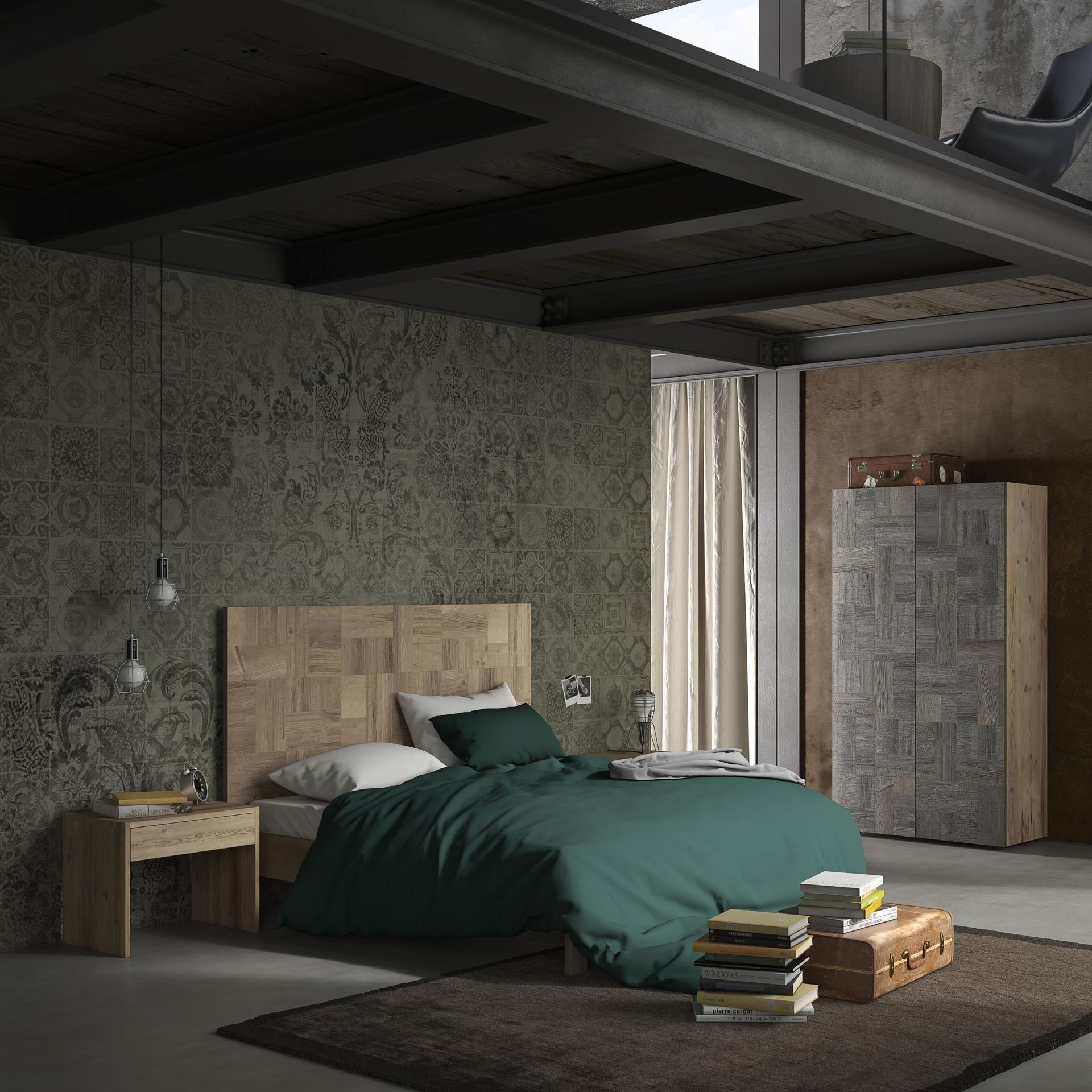 Letto sacco con testiera in massello itesoricoloniali for Il loft arredamenti