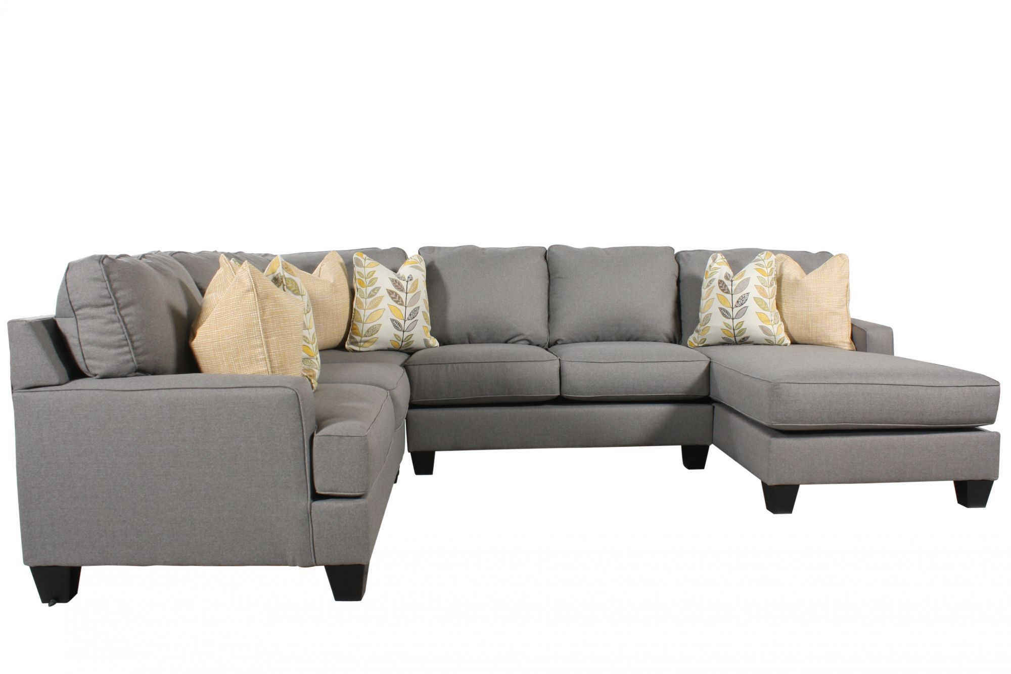 Ashley Chamberly Alloy Four-Piece Sectional | Living Room ...