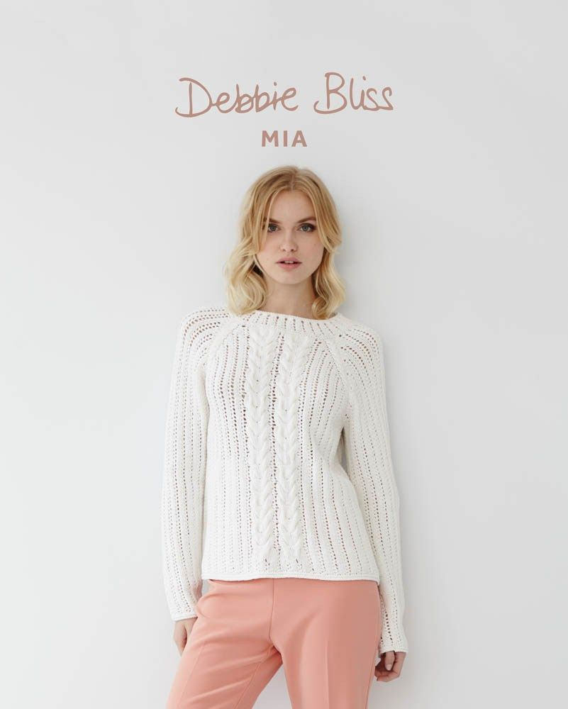 mia db074 debbie bliss patterns designer yarns single