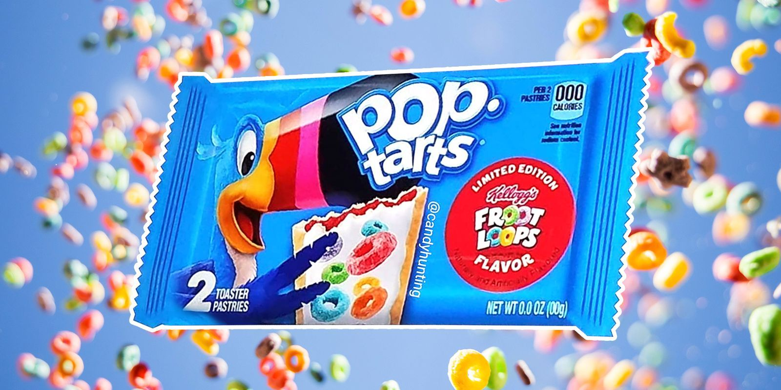 Awesome Kelloggs Is Releasing Fruit Loops Flavored Pop Tarts And Your Personalised Birthday Cards Veneteletsinfo