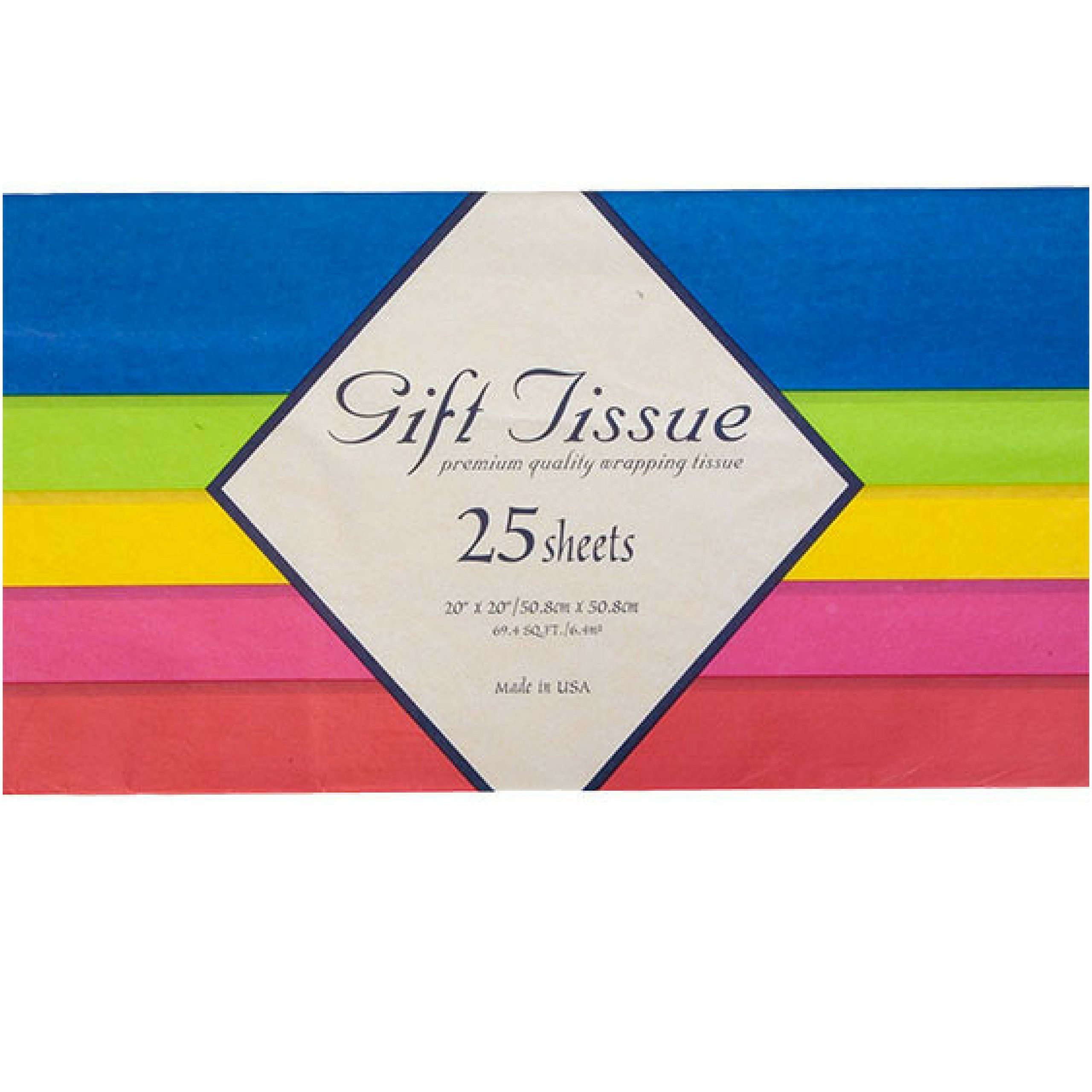 Birthday Gift Bags With Tissue Paper 8 Pack Party Favors Bulk Gifts Christmas Holidays Graduation Rainbow Confetti On Kraft 105x825x475 Read