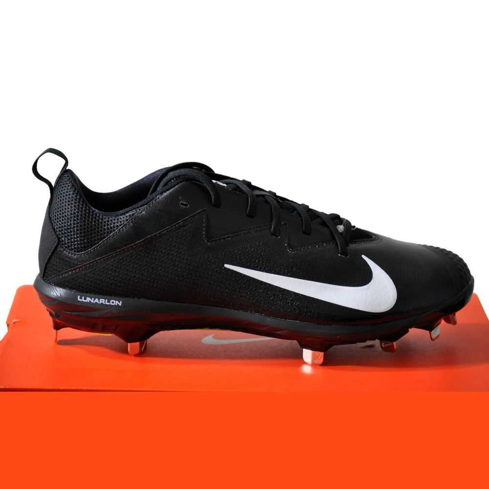 89888fb809a Nike Men s Vapor Ultrafly Pro Metal Baseball Cleats Black size 10 NIB  Nike
