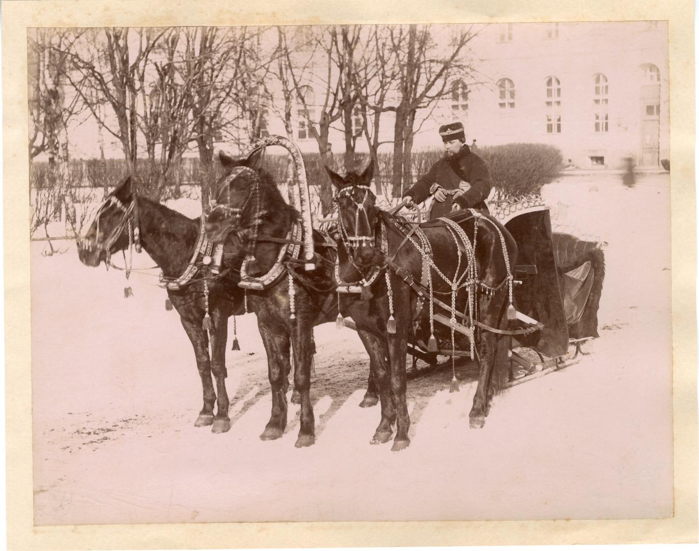 Russie, Un cocher russe, ca. 1880    #Russie_Russia