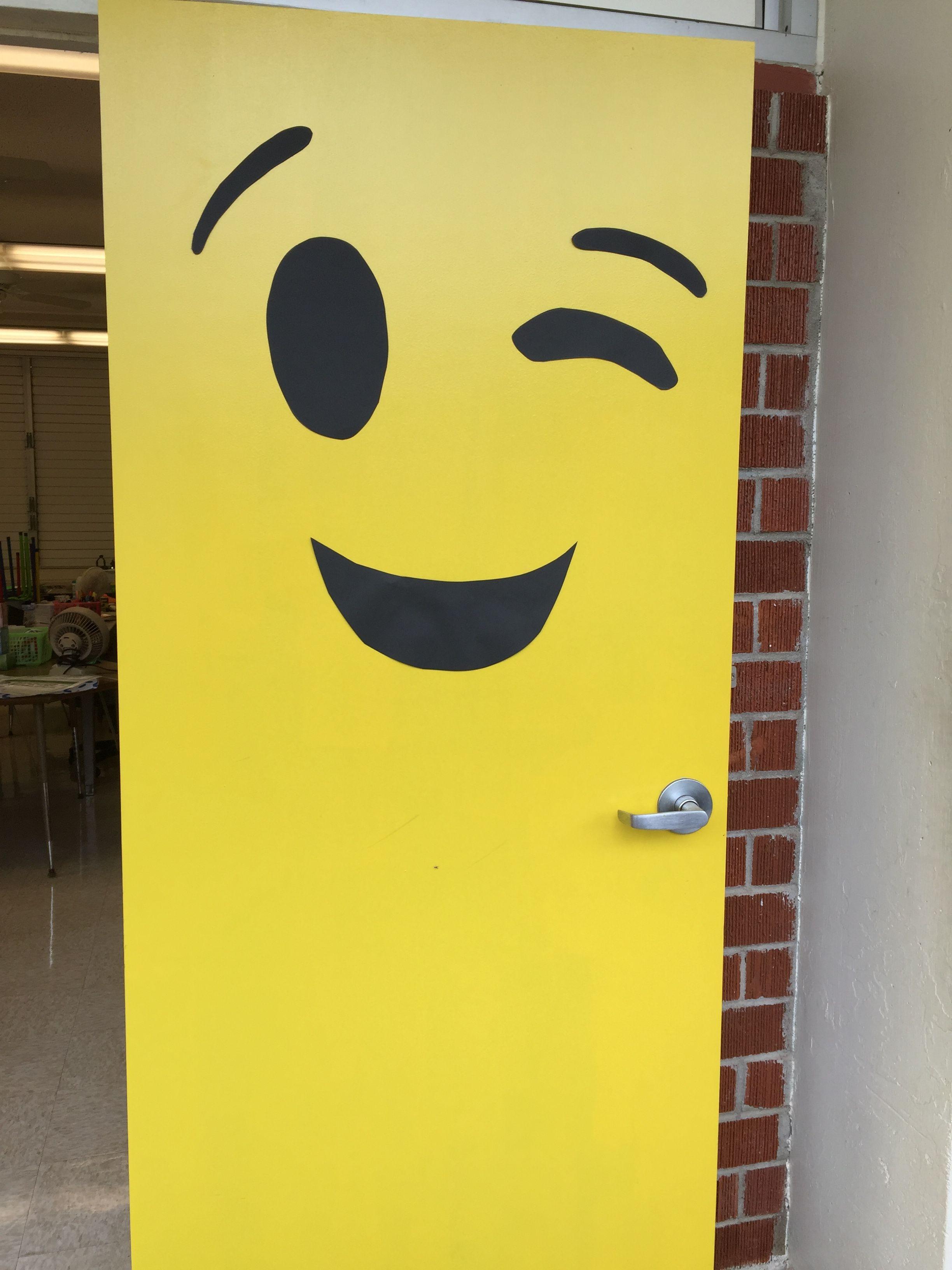 Emoji Door & Emoji Door | Puertas | Pinterest | Emoji Doors and Bulletin board