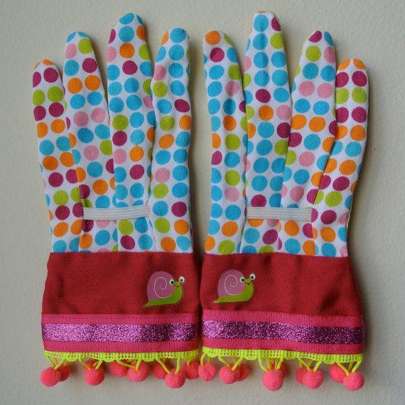Designer Garden Gloves For KIDS As Seen In Better By Katgallery, $18.00
