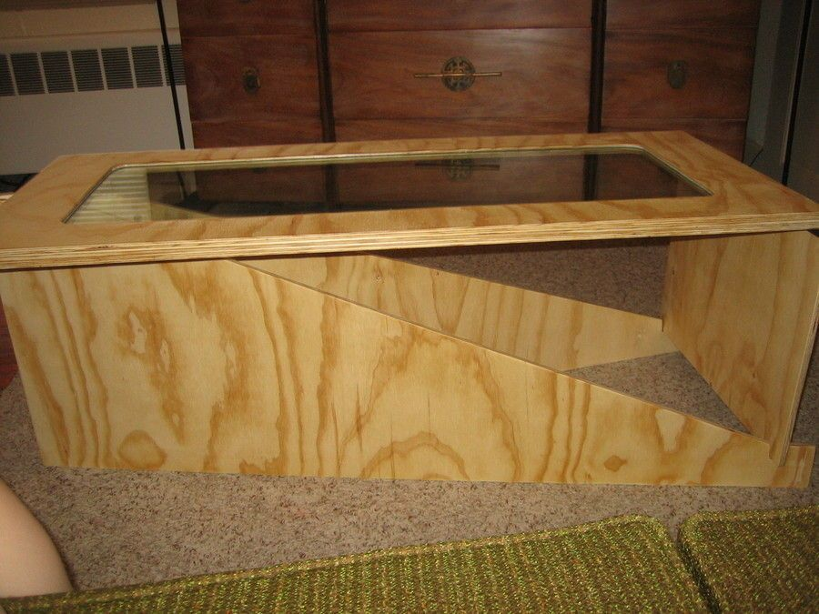 Image Result For Plywood Coffee Table
