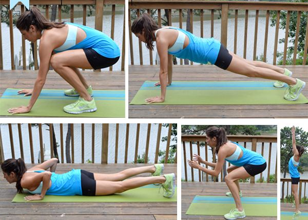 10 Burpee Variations With Images Burpees Calisthenics Workout