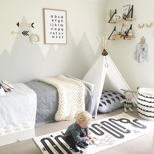 Toddler Boy Room Ideas: Interior Inspiration: #kidsroom The Adventure