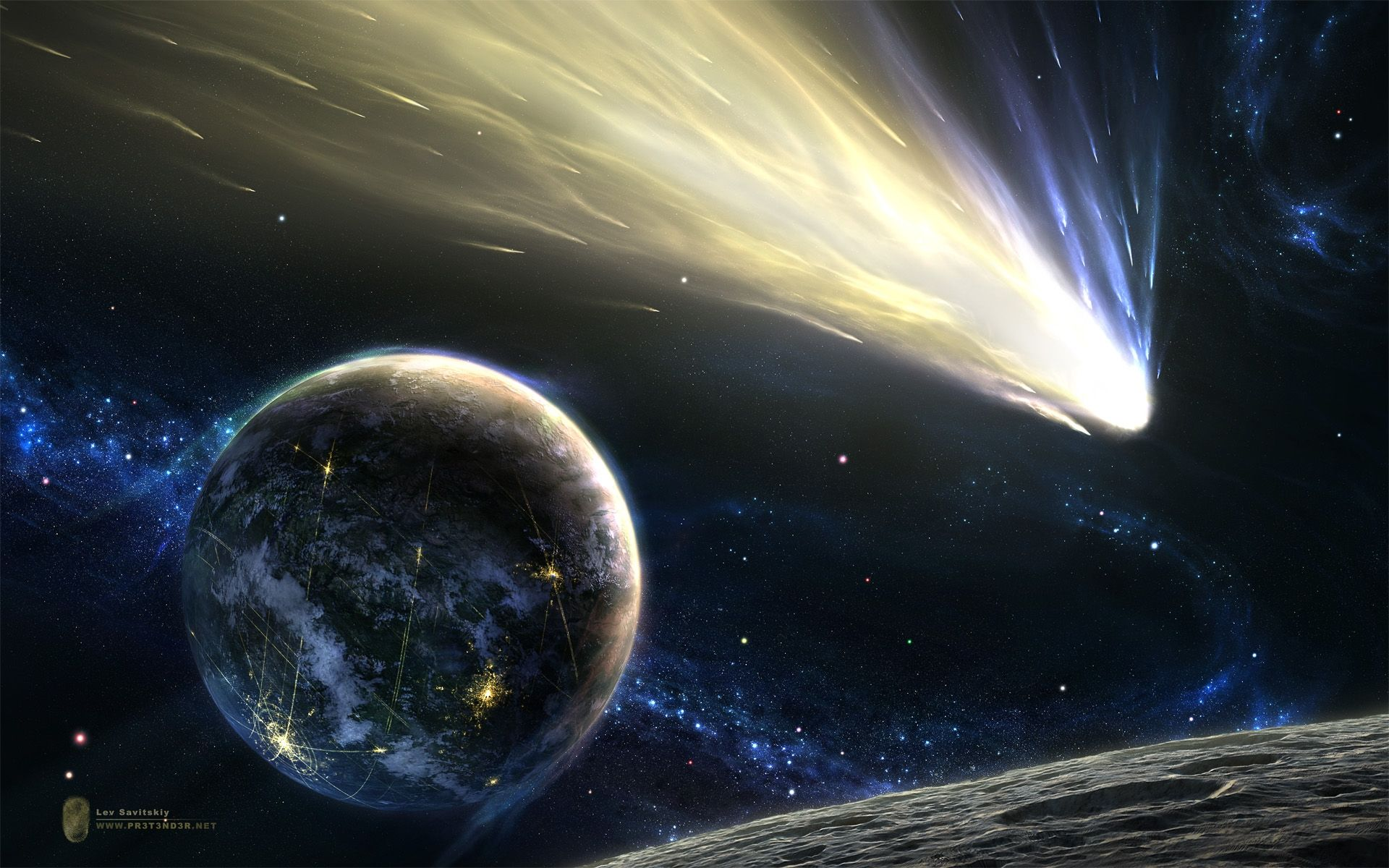 Photos Of Space Download Beautiful Space Wallpaper 189525 Planets Galaxy Wonder Stars And Moon