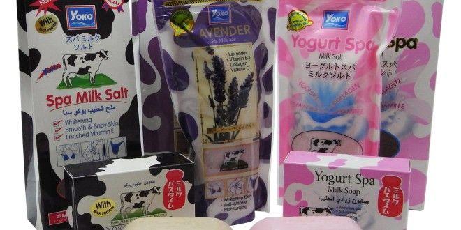 طريقة استخدام ملح الحليب يوكو سبا Milk Soap Baby Skin Milk