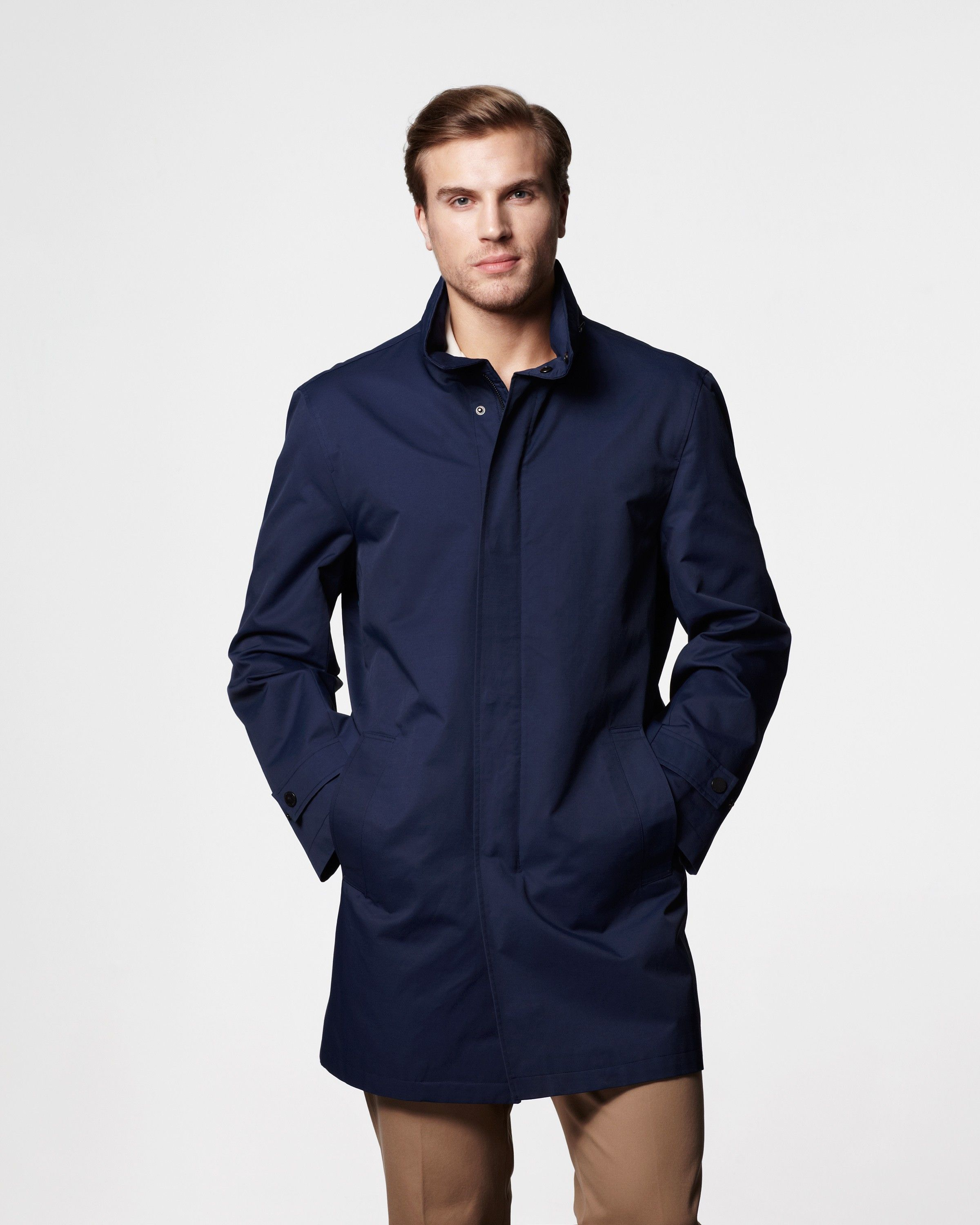 725f62120 Fairfield Lightweight Raincoat for Men | London Fog | Men's raincoat ...