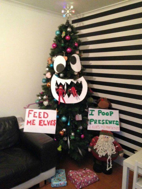 Elf on the Shelf Ideas Part One