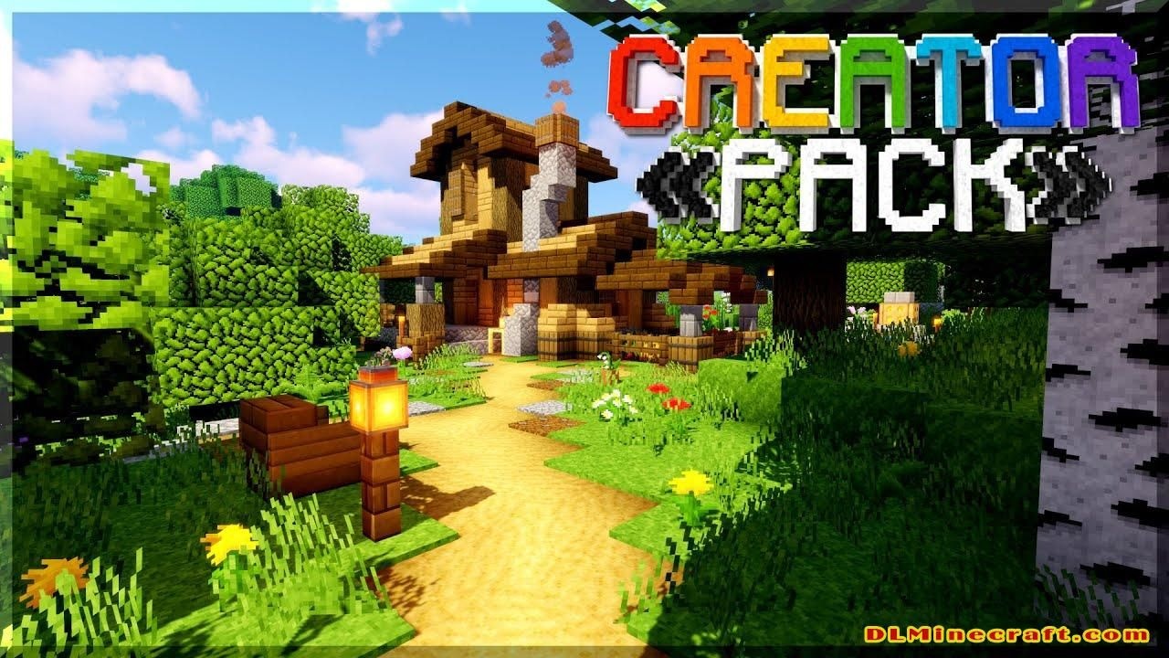Download The Creatorpack Texture Pack For Minecraft 1 16 4 1 15 2 And 1 14 4 In 2021 Texture Packs Minecraft 1 Texture