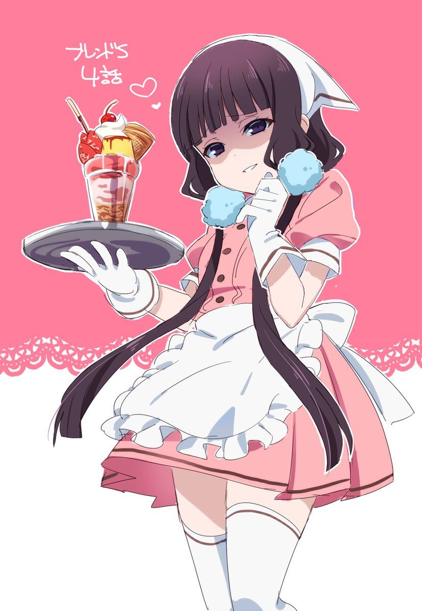 【密技】kappe 繪製的《調教咖啡廳》抖S 莓香 Anime maid, Anime images