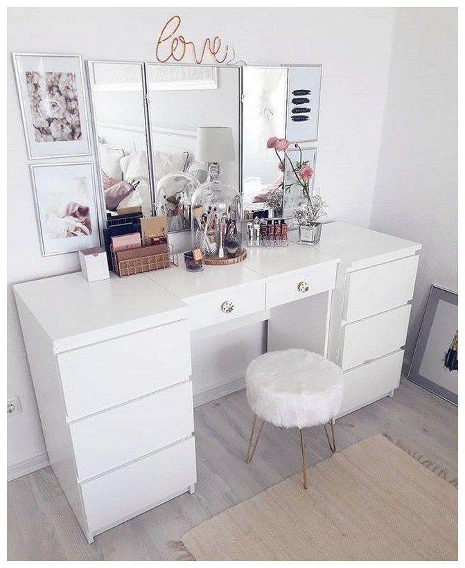 53 best makeup vanities & cases for stylish bedroom 35 images