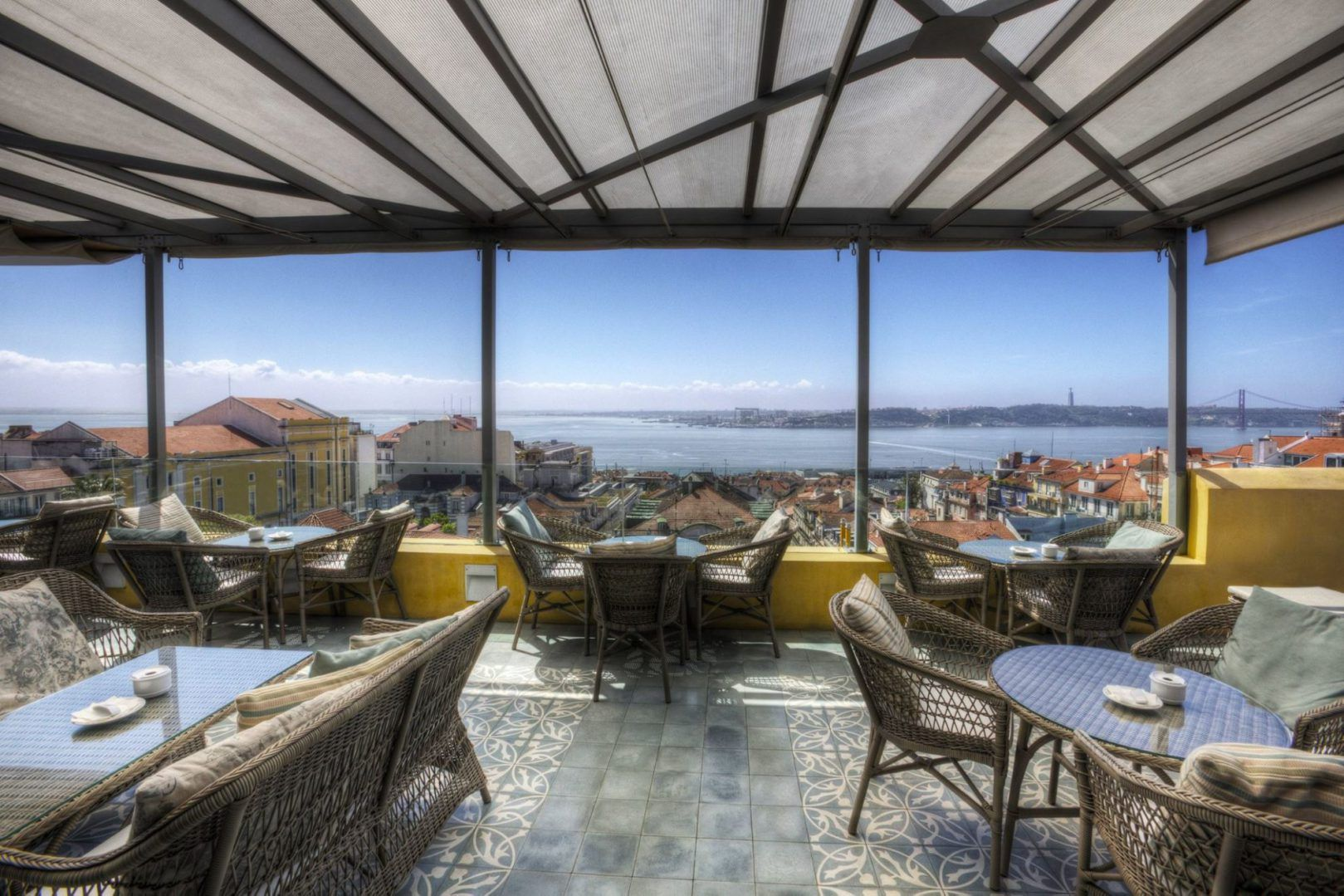 Terrace Ba Bar Terrasse Du Bairro Alto Hotel Lisbonne