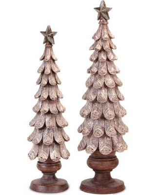 How cute are these!! I wonder if you could make something like this using pine cone pieces??