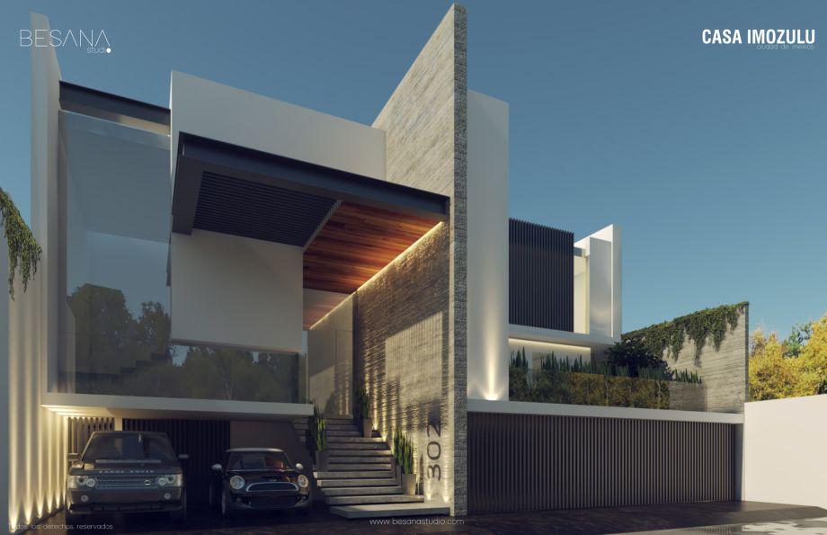 Bienvenido a Besana Studio Fachadas casas minimalistas