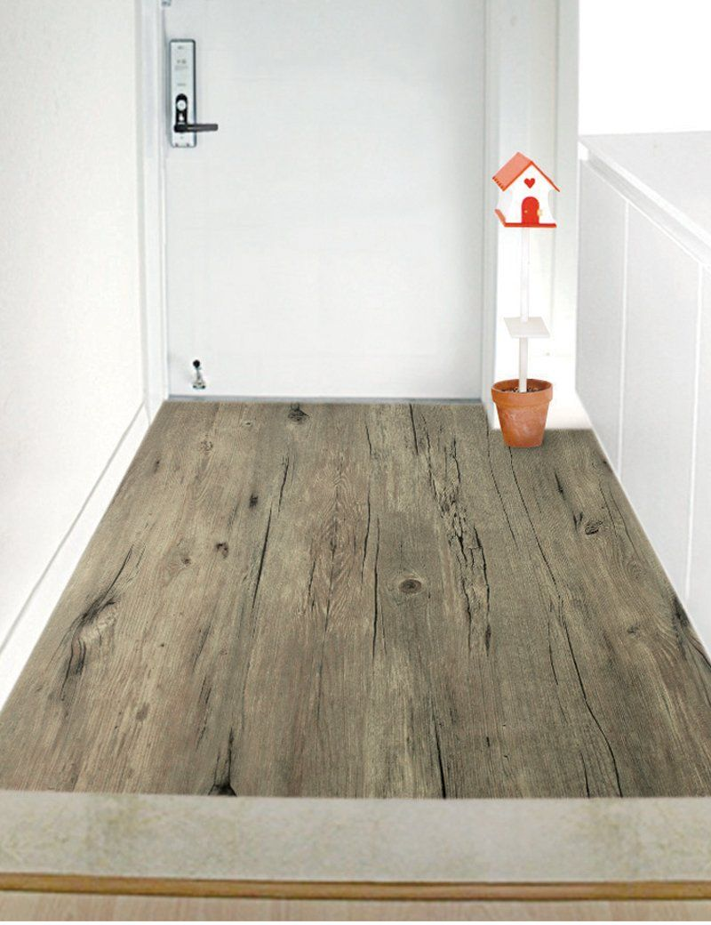 Amazon.com - Peel & Stick Self-adhesive Wood Pattern PVC Flooring [RFS - Amazon.com - Peel & Stick Self-adhesive Wood Pattern PVC Flooring