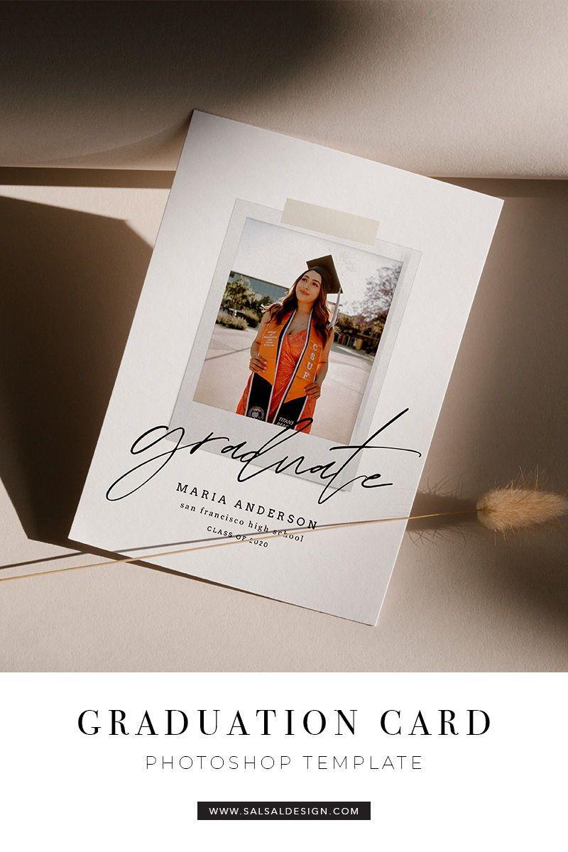 Graduation Card Template In 2020 Graduation Card Templates Graduation Announcement Cards Graduation Announcements