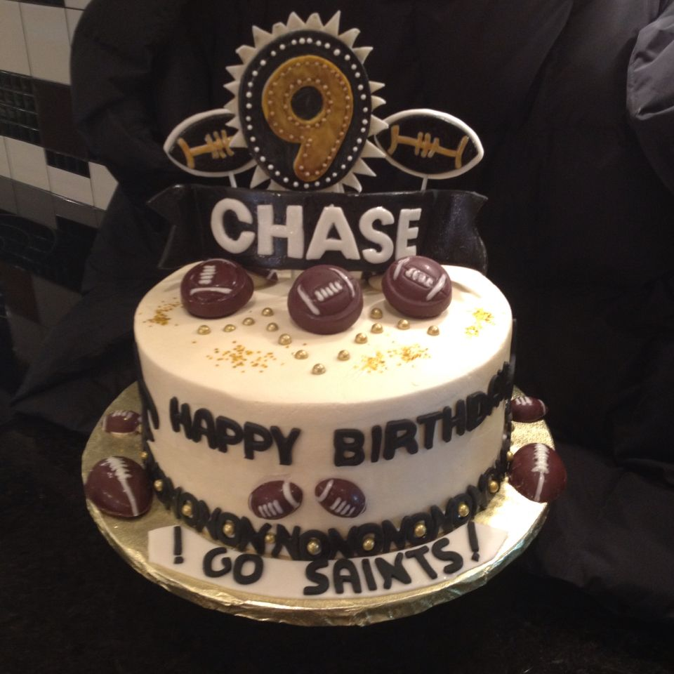 Happy Birthday Chasea Real Saints Fan BIRTHDAY CAKES - Real birthday cake images