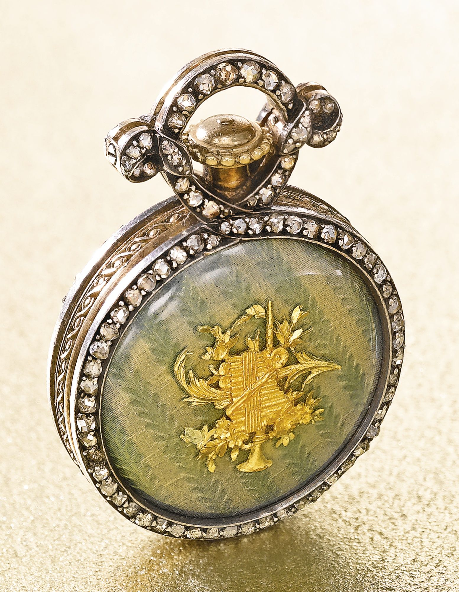 Boucheron a yellow gold enamel and diamond set watch circa 1890 boucheron a yellow gold enamel and diamond set watch circa 1890 mozeypictures Gallery