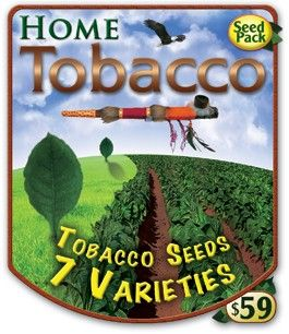 Tobacco Pack $59